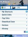 UCBrowser V8.3.4 S60V3 User Firendly mobile app for free download