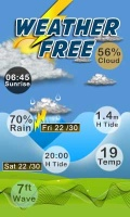 WEATHER FREE mobile app for free download