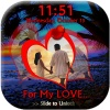 My Love Lock Screen mobile app for free download