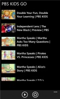 Pbs Kids Go mobile app for free download