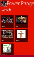 Power Rangers Samurai mobile app for free download