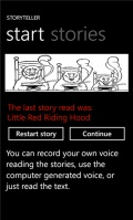 Storyteller mobile app for free download