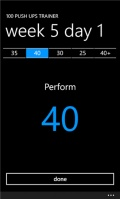 100 Push Ups Trainer mobile app for free download