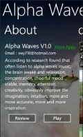 Alpha Waves mobile app for free download