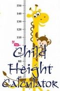 Child Height Calculator mobile app for free download