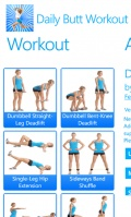Daily Butt Workout mobile app for free download