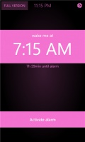 Gentle Alarm Clock Lite mobile app for free download