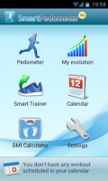 Smart Pedometer mobile app for free download