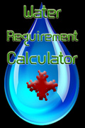 Water Requirement Calculator mobile app for free download