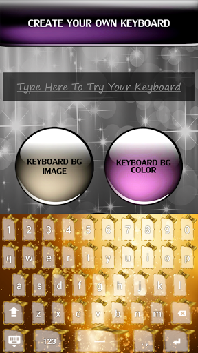 Gold Keyboards