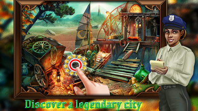 Haunted Land Of Hidden Objects