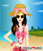 Hawaii Beach Dressup Free