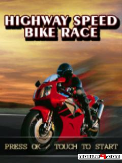 Highway Speed Bike Race