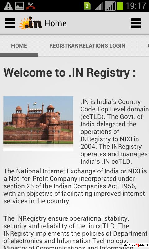 Registry.in