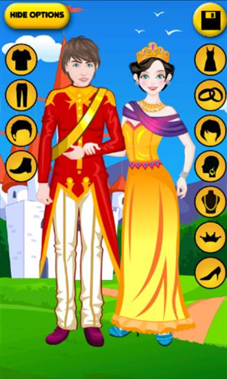Royal Couple  Dressup