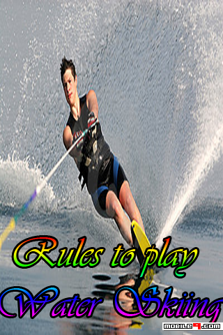 Rules To Play Water Skiing