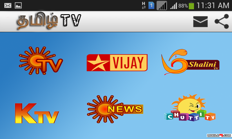 Download tamil live tv for android mobile