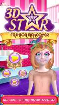 3D Star Fashion Makeover mobile app for free download