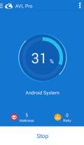 AVL Pro Antivirus Security mobile app for free download