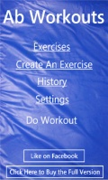 Ab Workouts Lite mobile app for free download