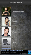Adam Levine Fan App mobile app for free download