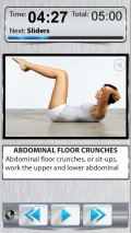 Belly Fat Workout FREE   10 Minute Ab Exercises mobile app for free download