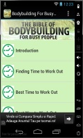 Bodybuilding For Busy People mobile app for free download