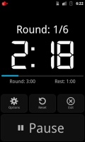 Boxing Timer Rounds & Sparring mobile app for free download