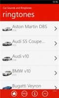 Car Sounds and Ringtones mobile app for free download