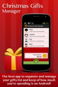 Christmas Gifts Shopping List mobile app for free download