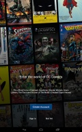 DC Comics mobile app for free download