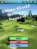 Disc Golf Scorecard mobile app for free download