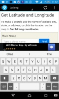 GPS Geolocation mobile app for free download