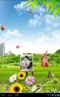 Green Spring Live Wallpapper mobile app for free download