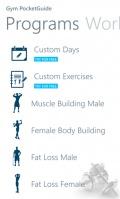 Gym PocketGuide mobile app for free download