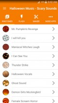 Halloween Music   Scary Sounds mobile app for free download