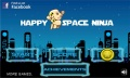 Happy Space Ninja Runner mobile app for free download
