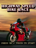 Highway Speed Bike Race mobile app for free download