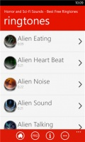 Horror and Sci Fi Sounds   Best Free Ringtones mobile app for free download