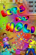 Let\'s Play Holi 240x400 mobile app for free download