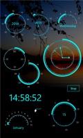 Modern Clock XIV mobile app for free download