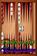 Rules to play Backgammon mobile app for free download