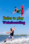 Rules to play Wakeboarding mobile app for free download