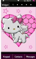 Samsung Star 2 Charmy Kitty Theme mobile app for free download