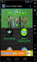 Sims 3 Cheats mobile app for free download