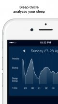 Sleep Cycle alarm clock mobile app for free download