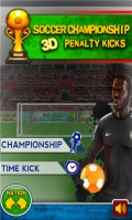 Soccer Championship Penalty Kicks 3D mobile app for free download