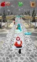 Super Santa Run mobile app for free download