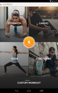 Sworkit Lite   Workout Trainer mobile app for free download