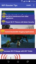 WiFi Booster Tips mobile app for free download